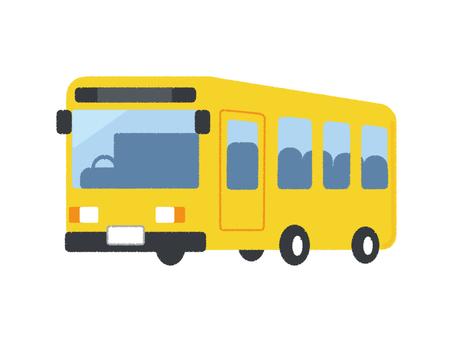 Bus Vehicle Vehicle Yellow