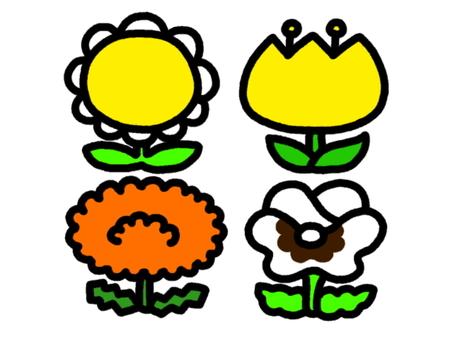 Flower set 4