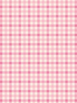 체크 무늬 핑크 패턴