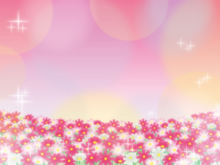 Autumn cherry tree background 07