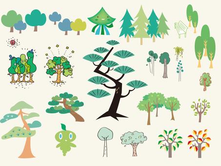 樹木和樹木