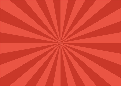 Radial background red