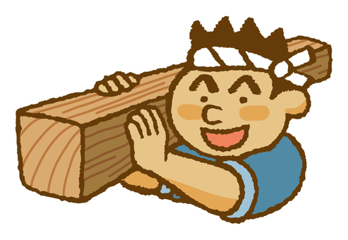 Admiral (carrying timber ♪)