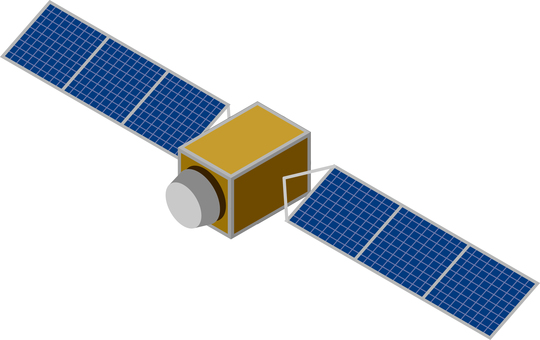Artificial satellite GPS satellite