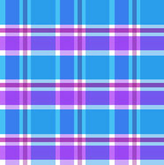 Blue purple check material