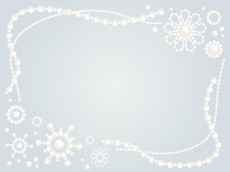 Elegant pearl frame 4