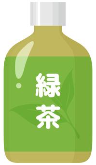 PET bottle green tea _ small