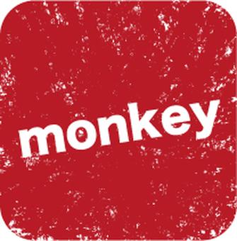 monkey stamp 01