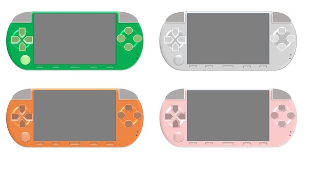 携帯ゲーム機(4色セット)2