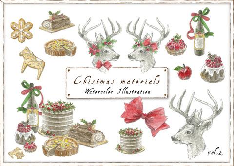 Christmas material _ 02