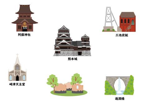 熊本の観光地
