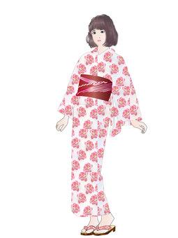 Yukata girl 10