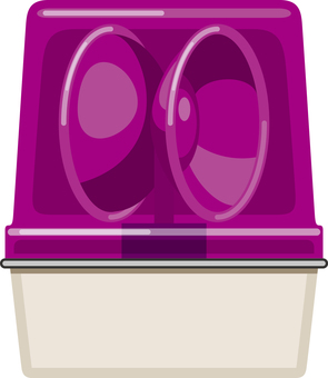 Purple turning light