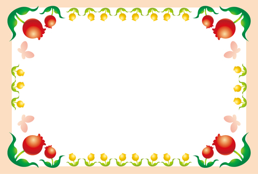 Tulip frame 1