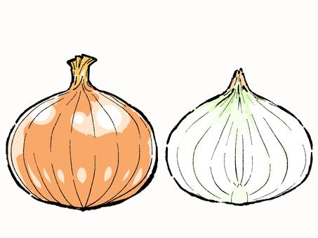 Onion hole & cut