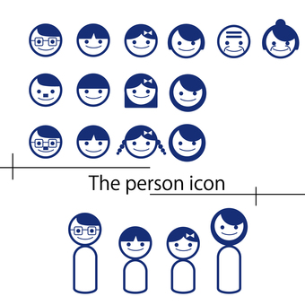 Person face icon avatar