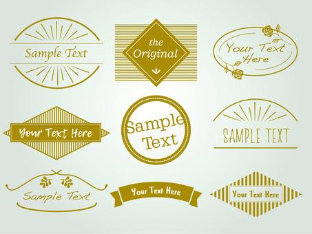 Various emblems 1