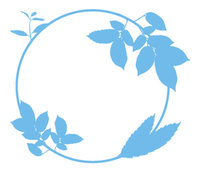 Green _ leaf _ circle pattern _ 2