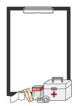 Emergency set frame