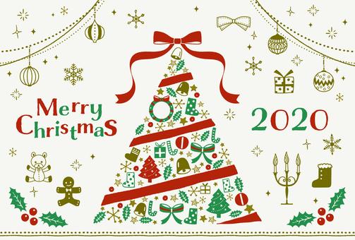 聖誕節/手繪插圖集/樹