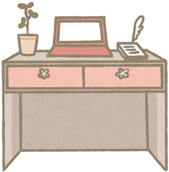 Miscellaneous goods and desk