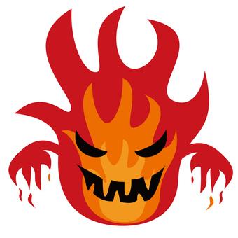 炎のモンスター