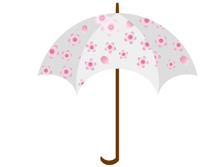 Umbrella (cherry pattern) 3