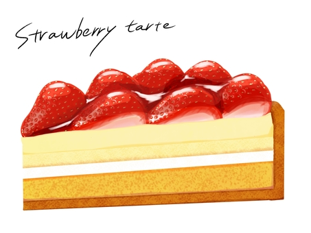 Strawberry Tart Ichigo Tart