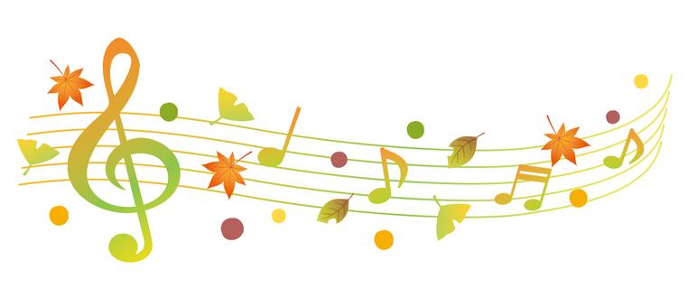 가을의 음악 라인