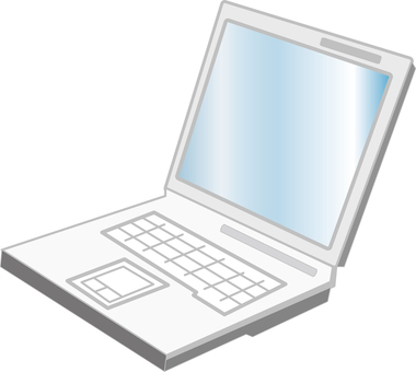 Free illustration Free material Laptop PC