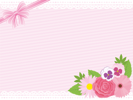 Flower Girly Frame * Pink