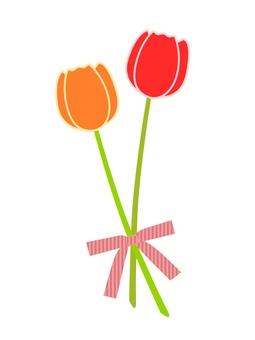 Tulip (Red Orange)