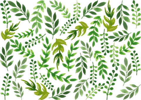 Watercolor_plant_background