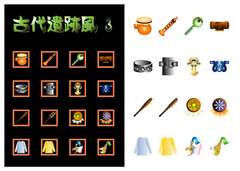 Ancient ruins style game item 3