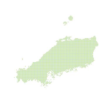 Dot Map China (Region) 1