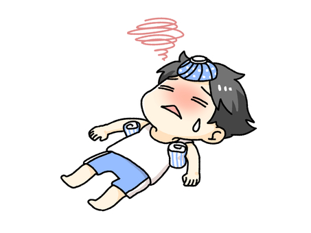 躺著中暑的人
