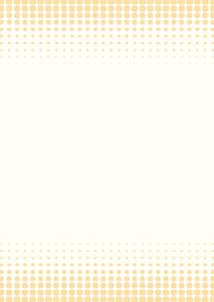 살짝 가을 도트 그라데이션 프레임 ☆ 벽지 세로