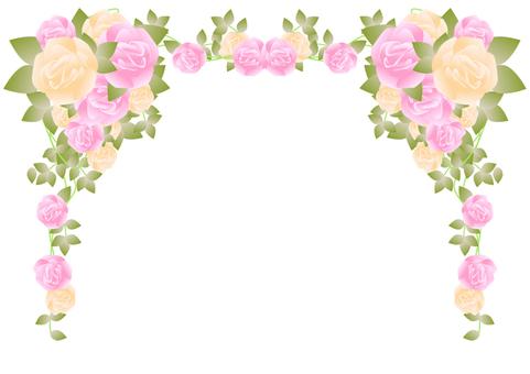 Roses Frame -1