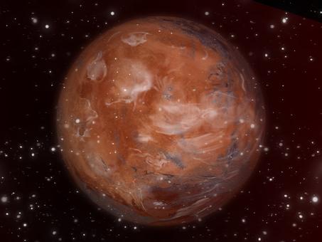 Universe wallpaper puzzling Mars ①