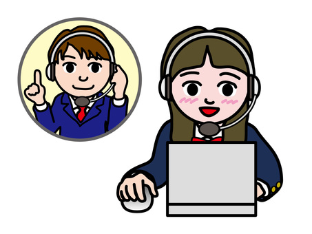 PC操作(982)英語會話高中女生