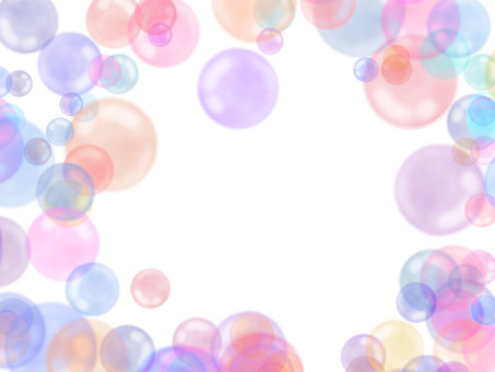 Soap bubble background