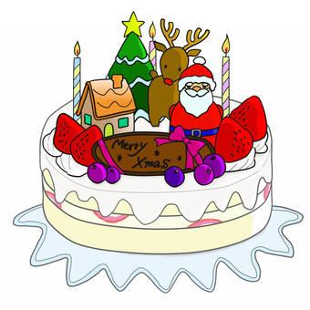 圣诞蛋糕1