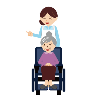(Working Women / Care Series) Nurses and Wheelchairs