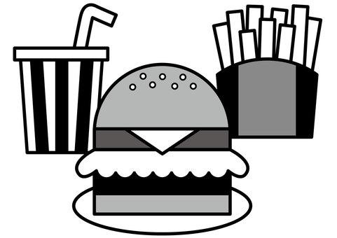 햄버거 2c