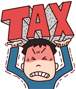 Illustration supporting taxes