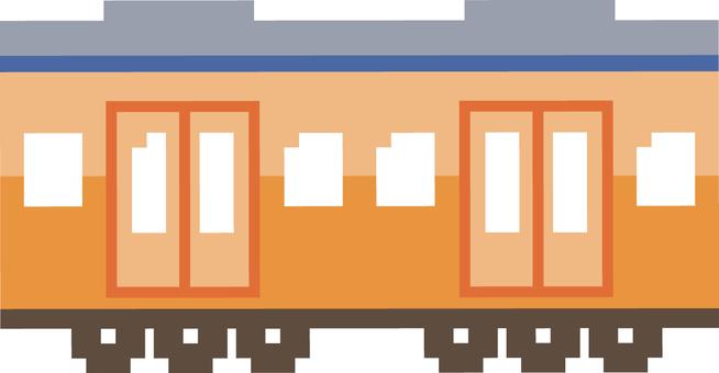 電車ドット絵