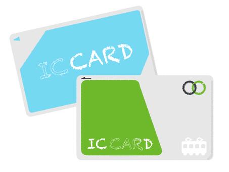 IC card periodic electronic settlement set