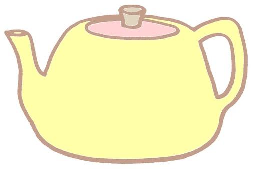 Kettle kettle yellow