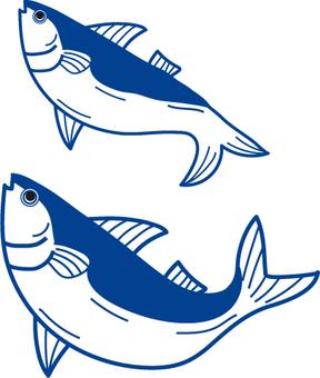 물고기 선화