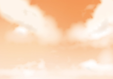 暮色的天空
